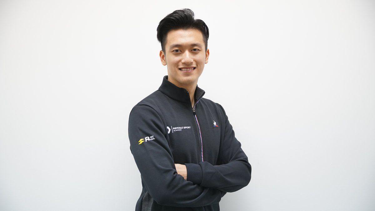 Guanyu Zhou, Renault