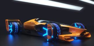 McLaren 2050 F1 car