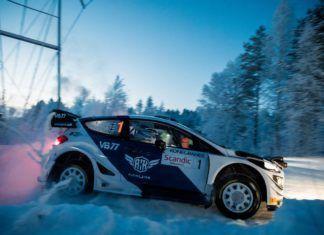 Valtteri Bottas on rally debut