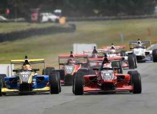 Marcus Armstrong and Liam Lawson, Teretonga TRS