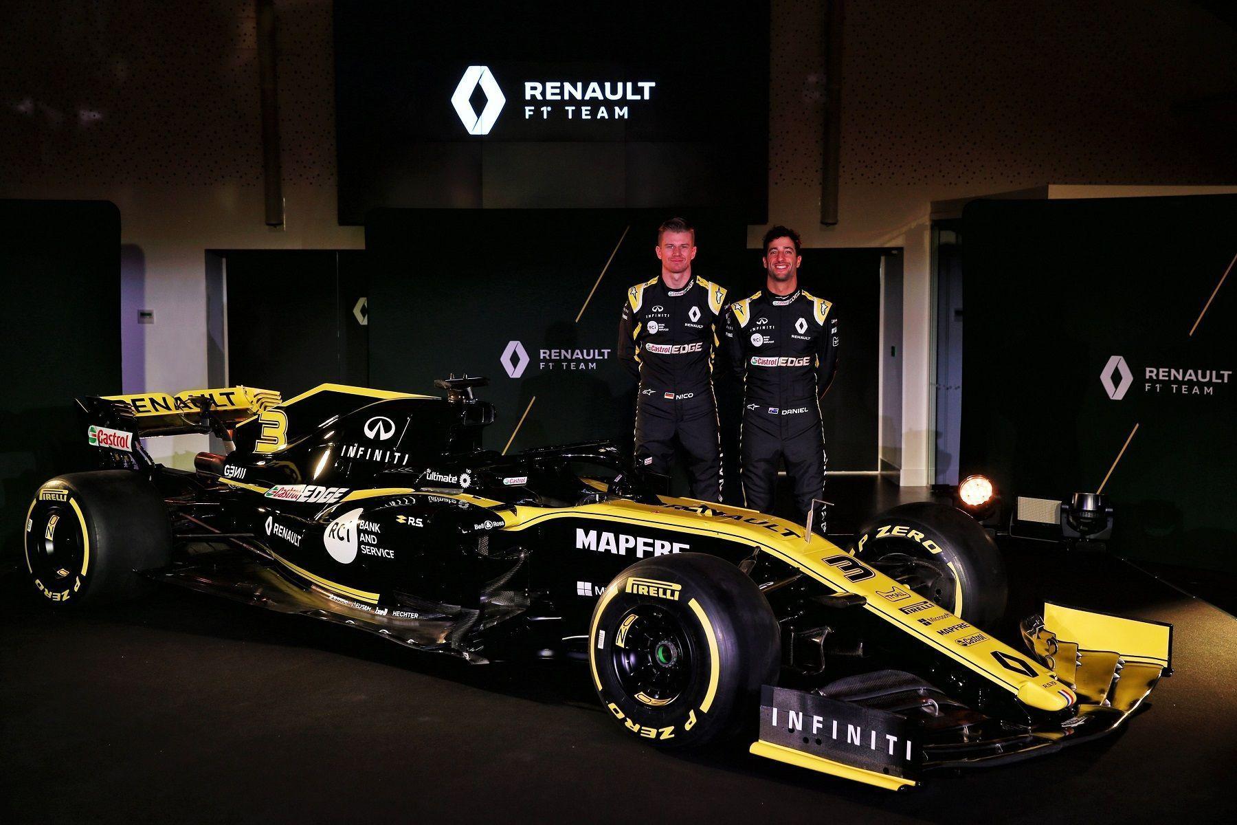 Daniel Ricciardo, Nico Hulkenberg, Renault F1 2019