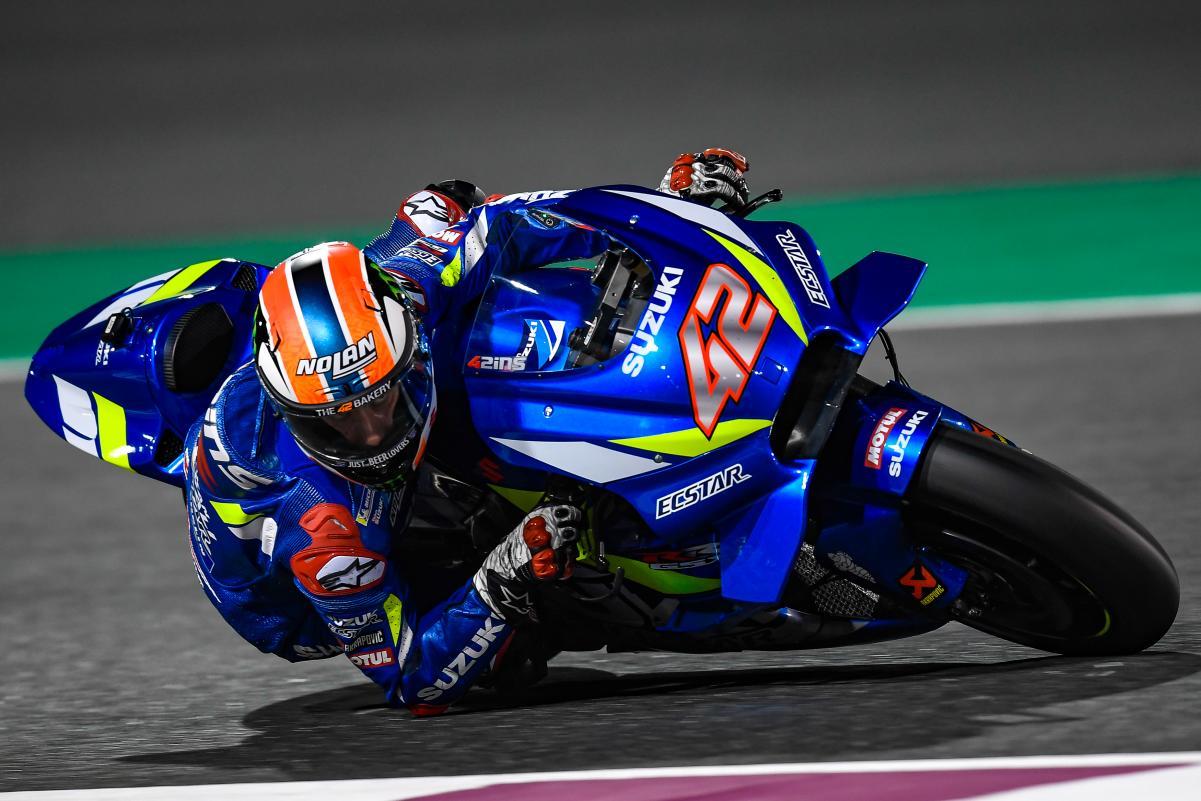 Alex Rins, MotoGP Qatar test
