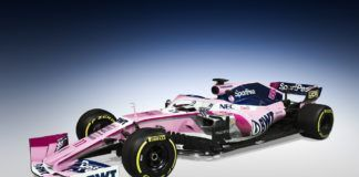 SportPesa Racing Point F1 Team 2019 F1 livery