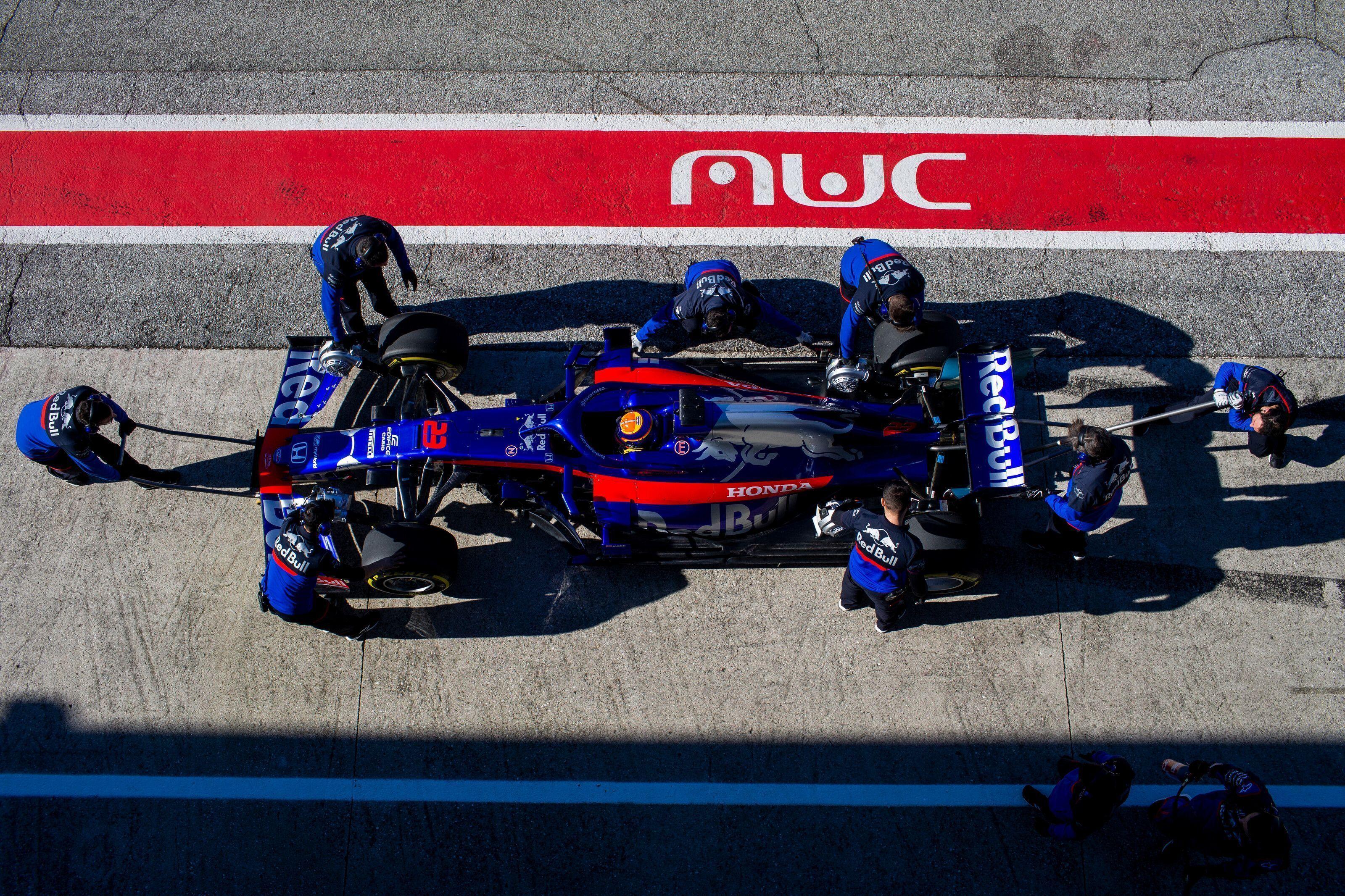 2019 Toro Rosso F1 car
