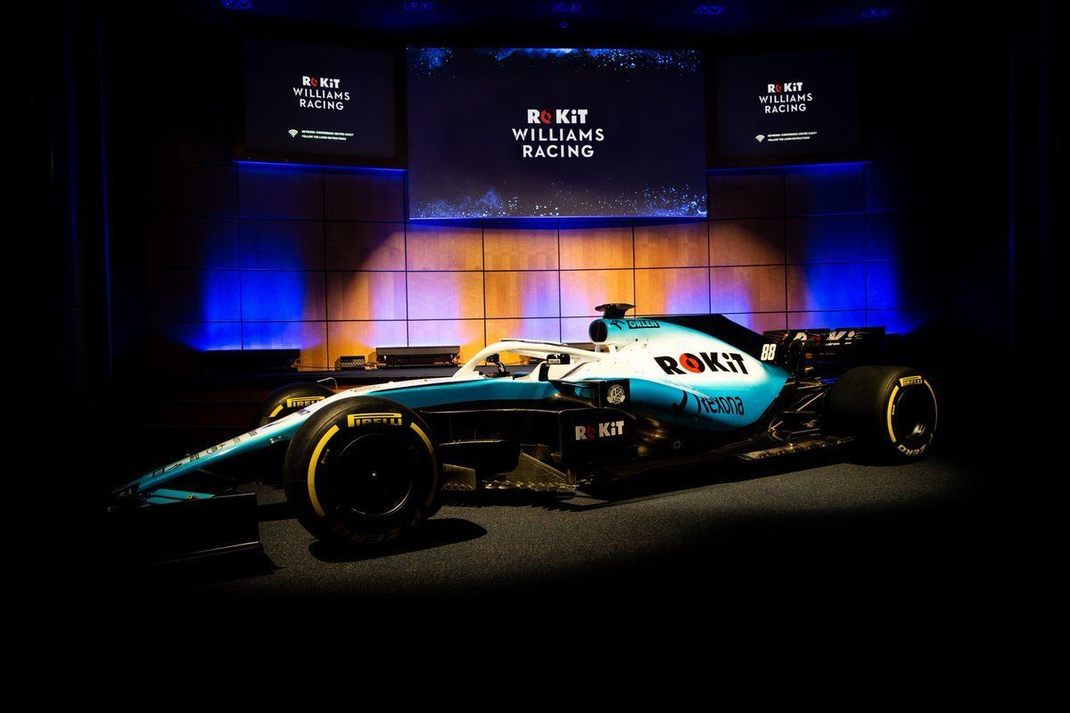 Williams 2019 F1 car and livery