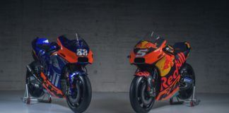 2019 KTM and Tech 3 MotoGP livery