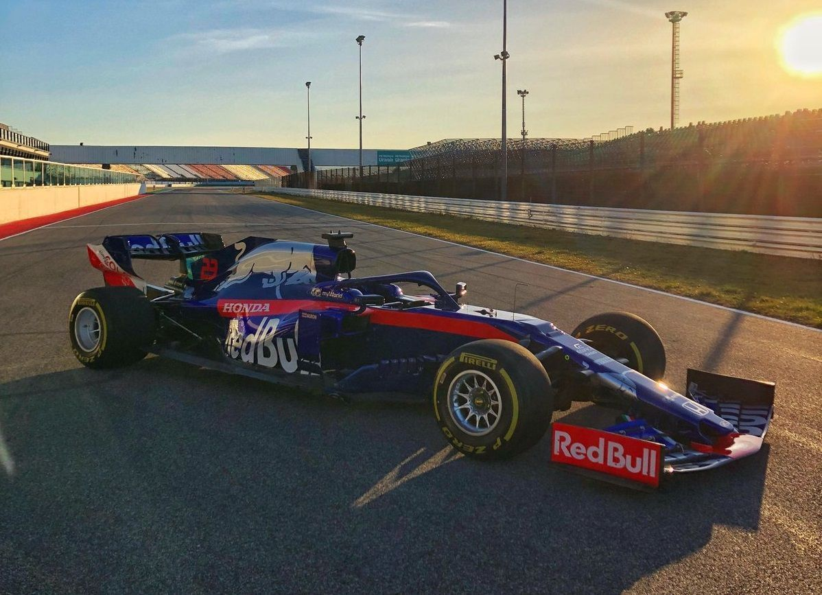 First Toro Rosso track image, F1