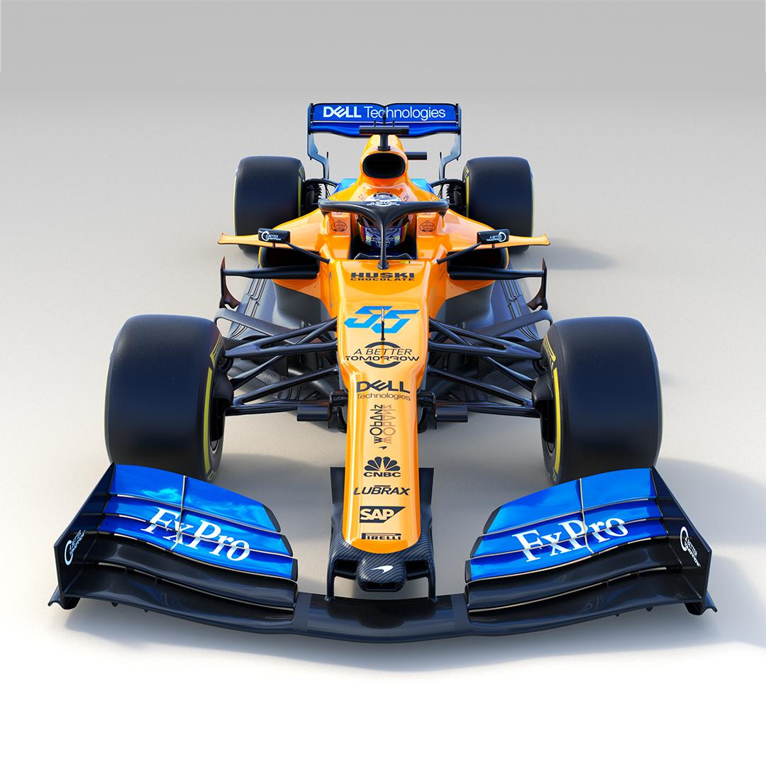 2019 McLaren F1 car and livery