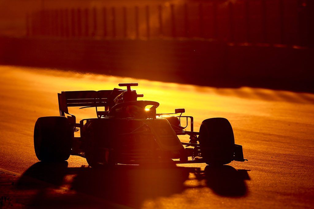 Haas Completes F1 2019 Car Shakedown At Barcelona Ahead Of Test