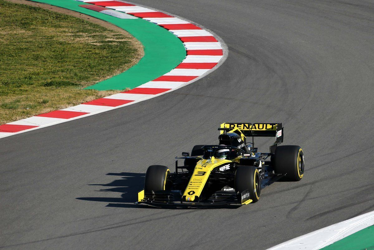 Ricciardo Happy With First Renault Run In F1 2019 At Barcelona Shakedown