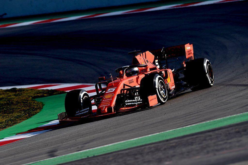 Sebastian Vettel, F1 2019
