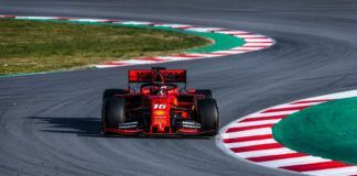 Charles Leclerc, F1 2019 test