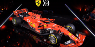 2019 Ferrari F1 car and livery