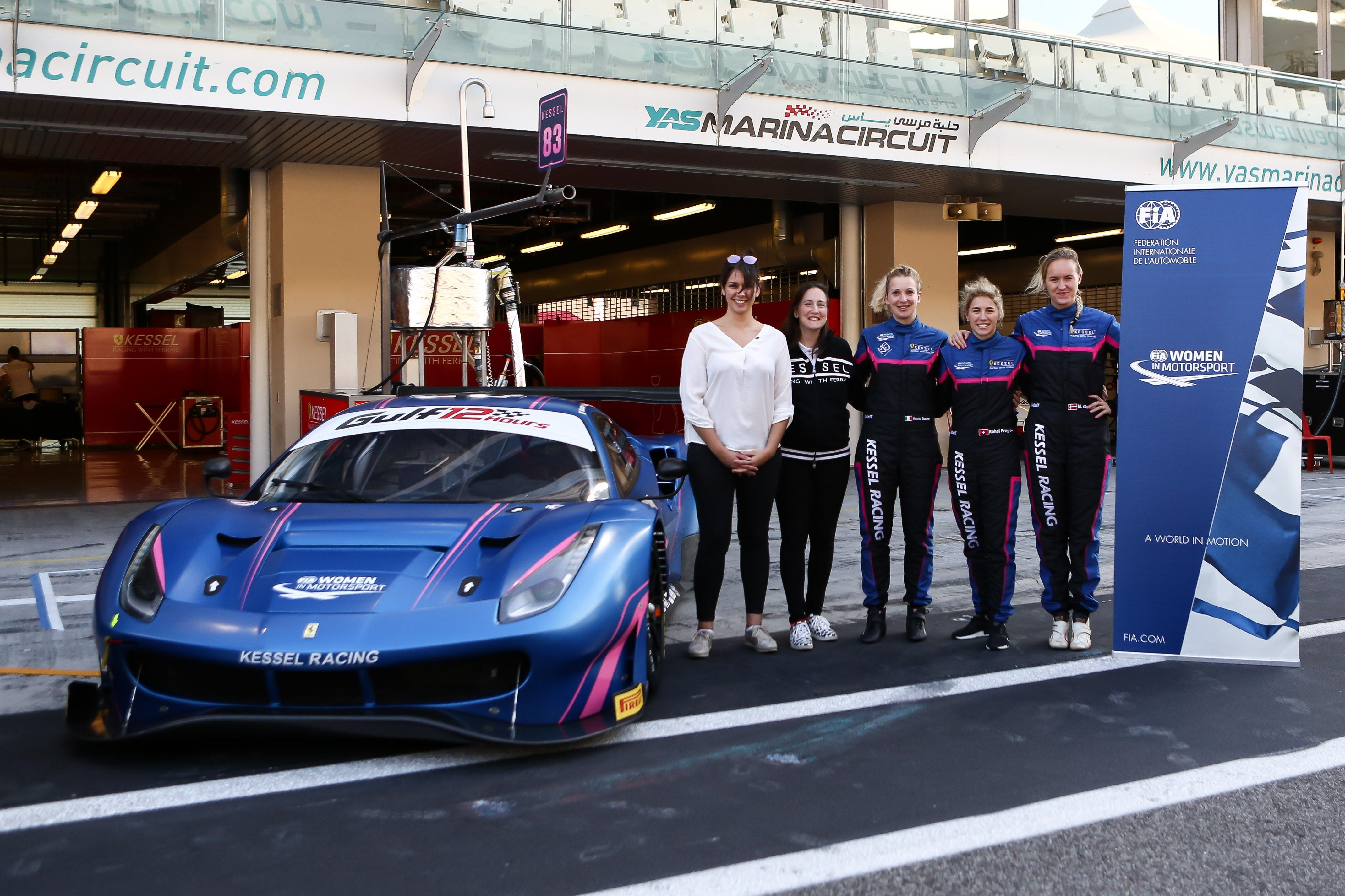 Manuela Gostner, Rahel Frey and Michelle Gatting in ELMS