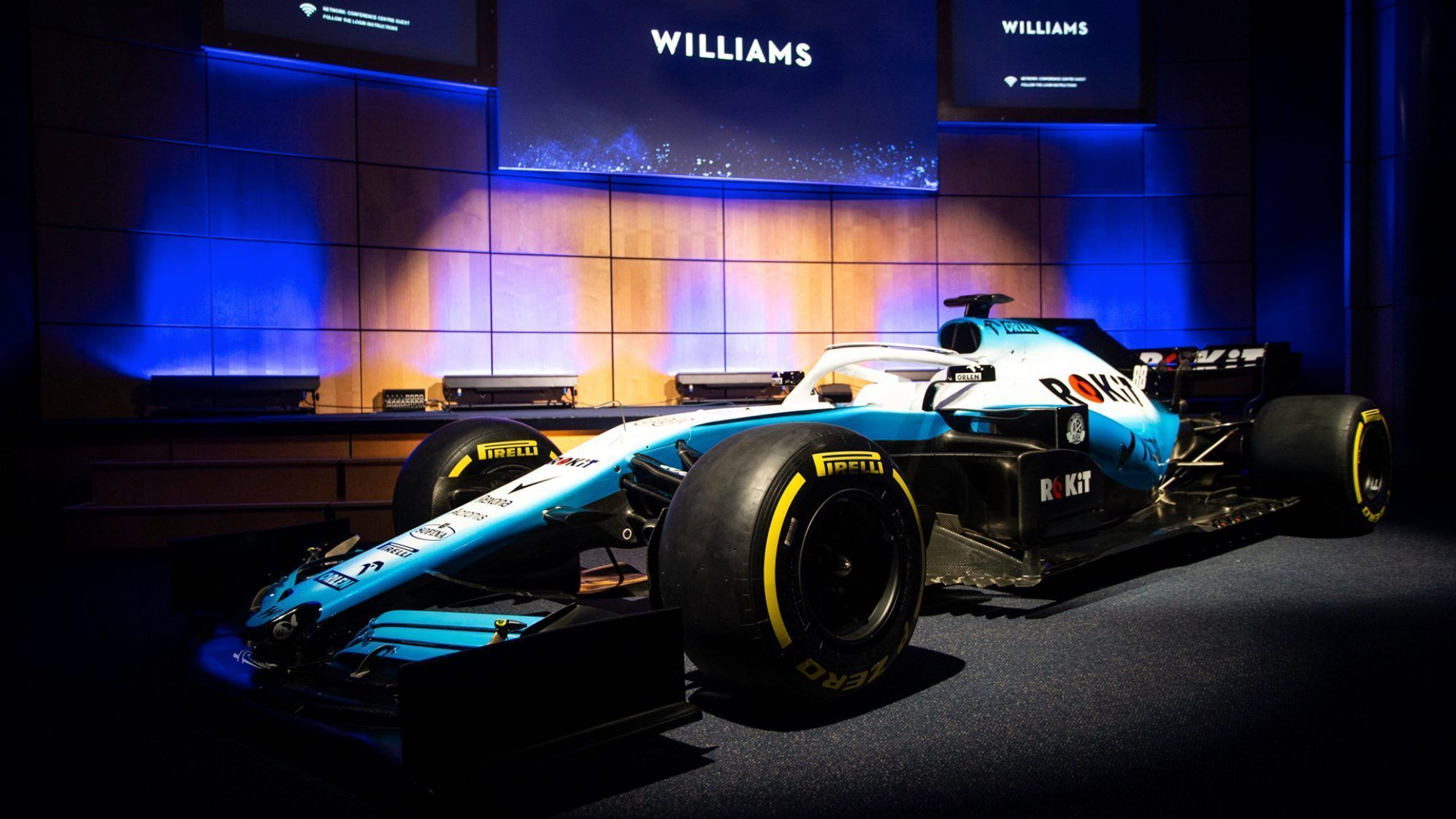 2019 ROKiT Williams F1 car and livery