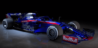 2019 Toro Rosso F1 livery, car