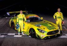 Fabian Vettel and Philip Ellis, ADAC GT Masters