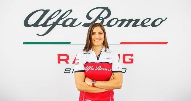 Tatiana Calderon, Alfa Romeo Racing