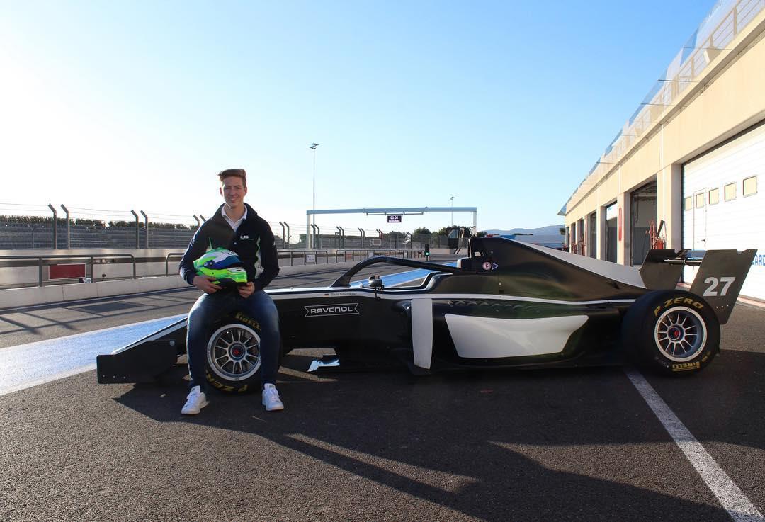 David Schumacher to race in Formula Regional European Championship