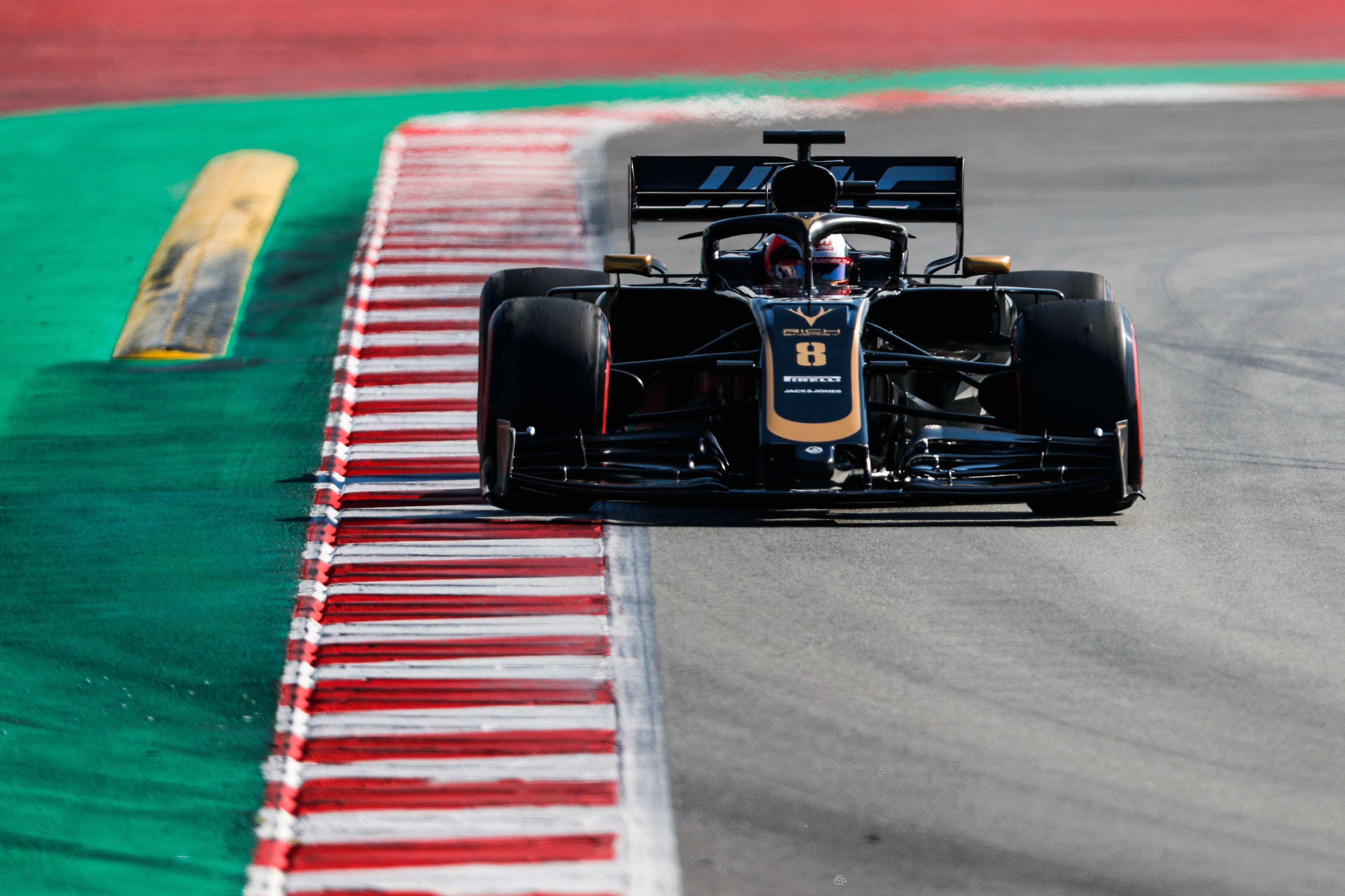 Romain Grosjean, Guenther Steiner, F1 2019