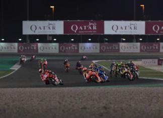 Ducati leads Qatar MotoGP