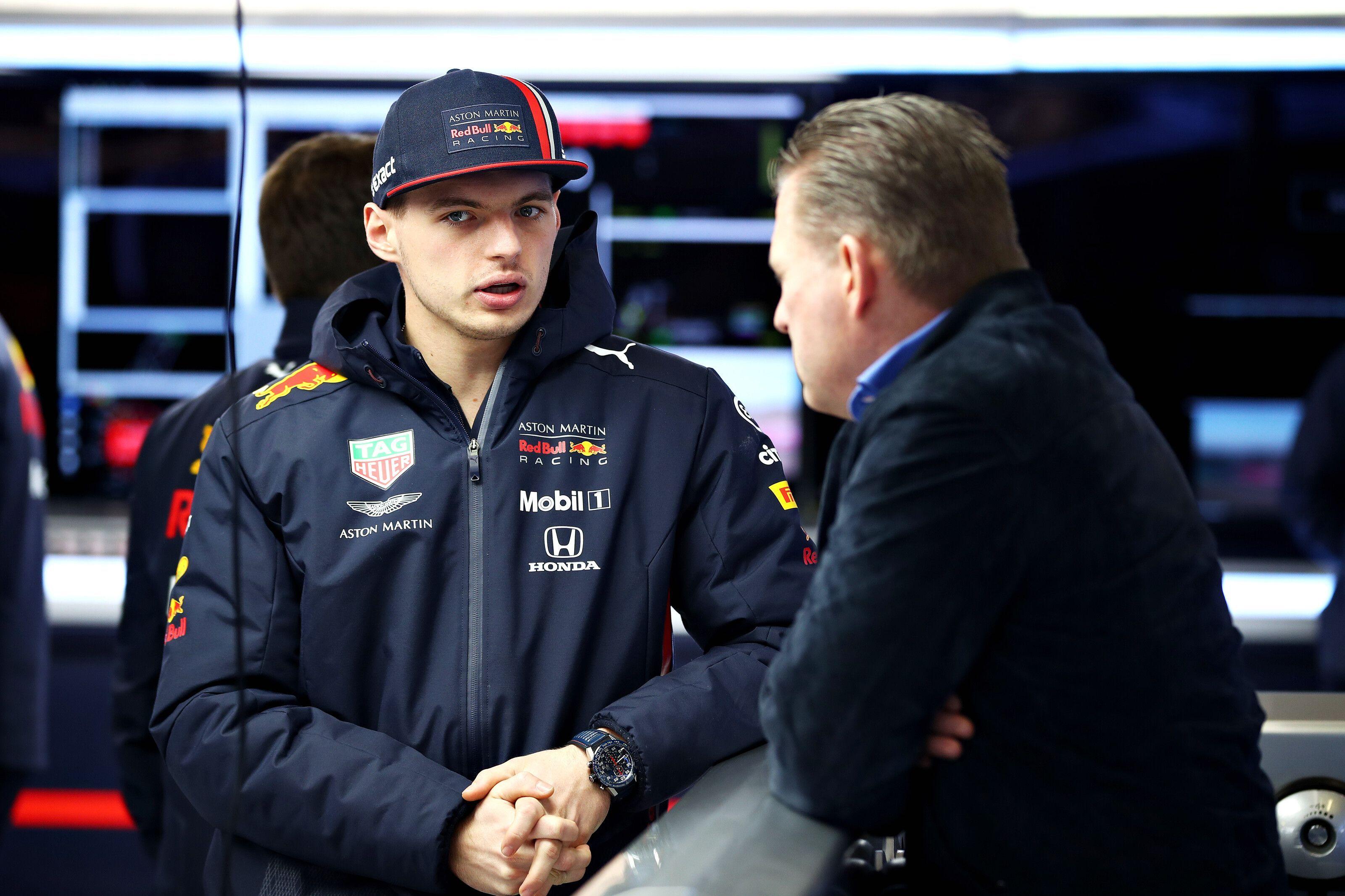 Max and Jos Verstappen, Red Bull Racing