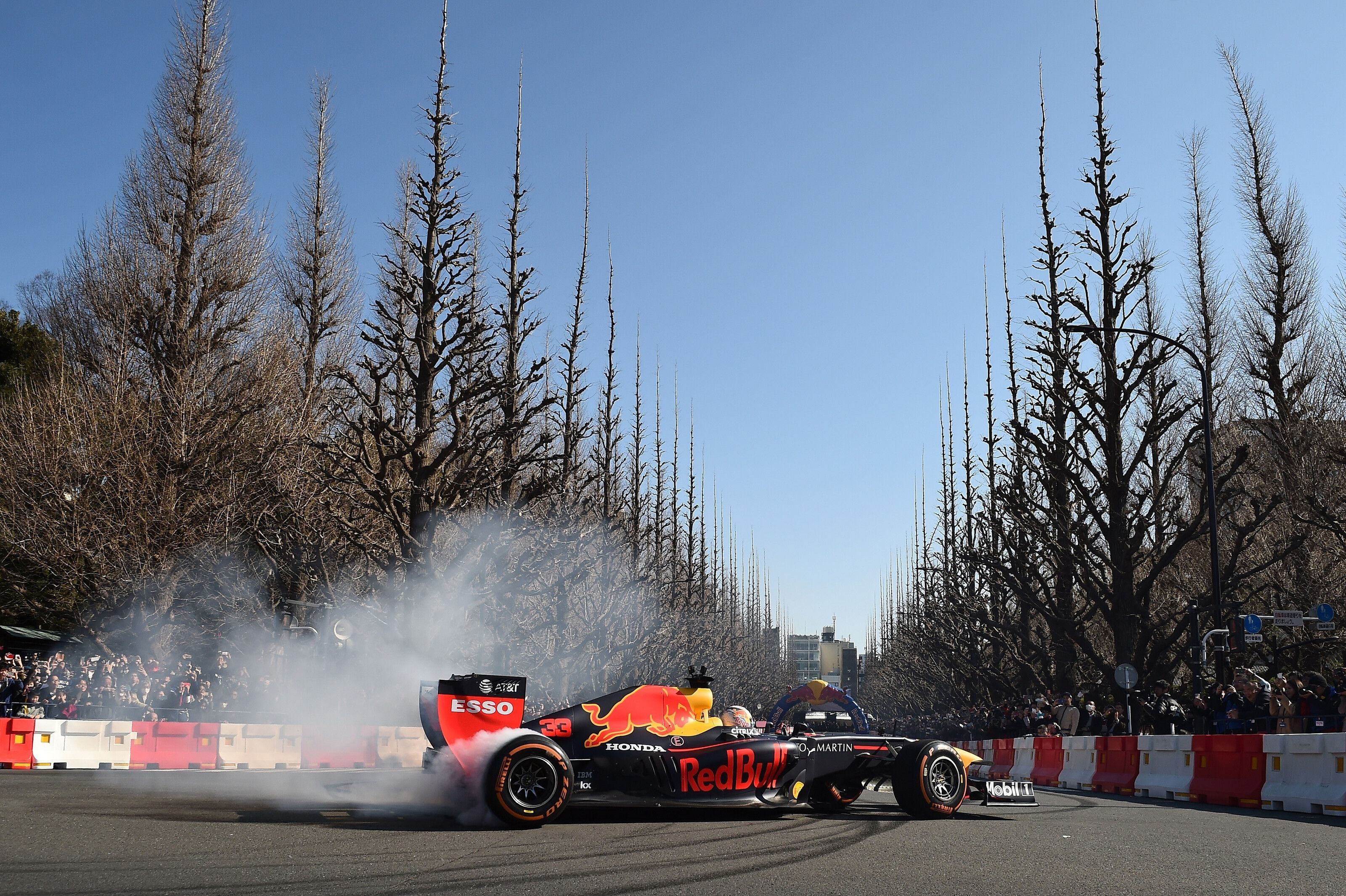 Max Verstappen, Pierre Gasly, Red Bull F1 showrun