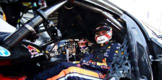 F1 driverMax Verstappen as a passenger to Jamie Whincup in Holden Supercar