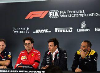 F1 team bosses, b-team