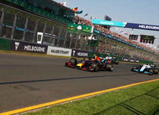 Pierre Gasly leads Robert Kubica and George Russell