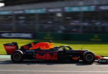 ExxonMobil on Red Bull F1 car