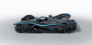 Mercedes, Formula E teaser car/livery