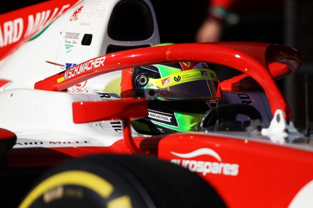Mick Schuamcher, F1 test Bahrain