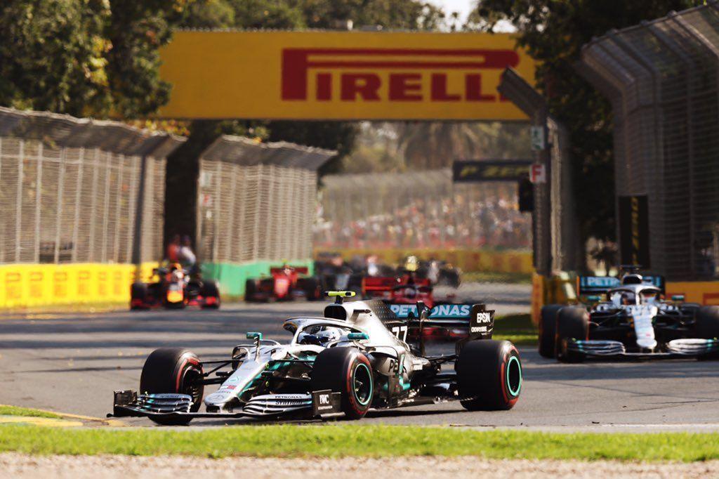 Valtteri Bottas wins Australian GP