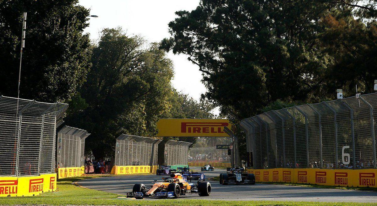 McLaren, Lando Norris leading rivals in Australian GP