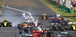 F1 Australian GP start