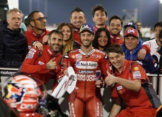 Andrea Dovizioso, MotoGP, Qatar GP