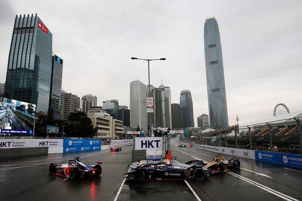 Sam Bird, Formula E Hong Kong ePrix