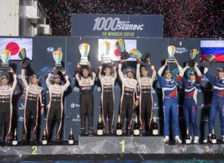 Toyota wins Sebring 1000 Miles