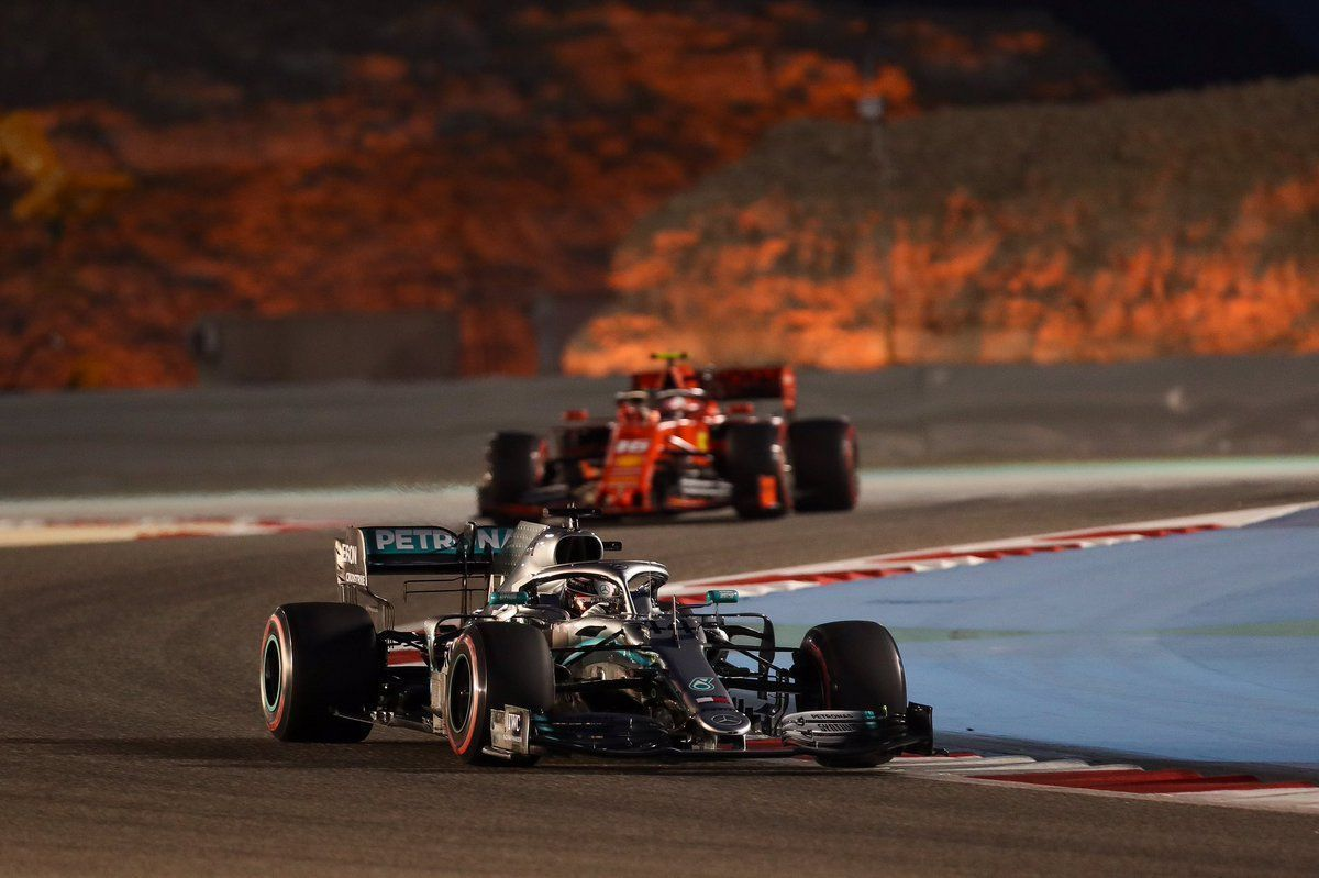 0769dbe7dff Bahrain GP  Hamilton wins from Bottas as Leclerc ends P3 after late ...