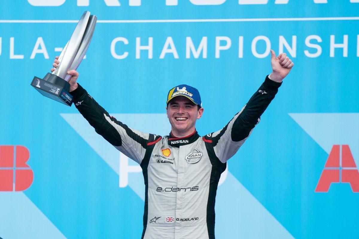 Oliver Rowland, Nissan, Formula E