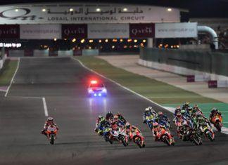 Qatar MotoGP start