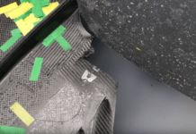 Mercedes, Lewis Hamilton's floor damage