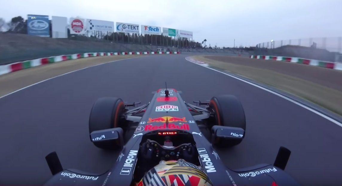 Dan Ticktum, Red Bull F1 demo run