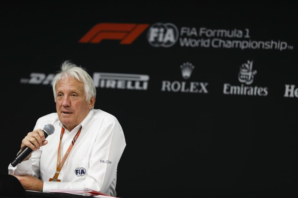 Charlie Whiting, F1 race director