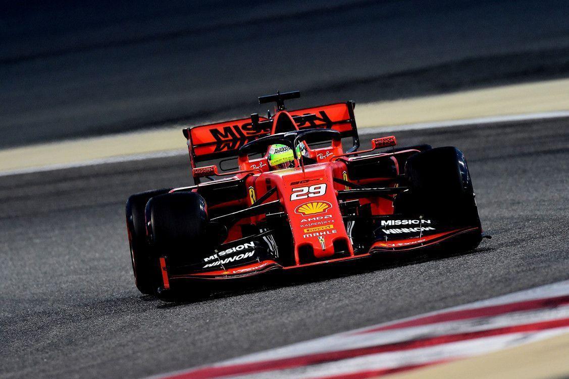 Mick Schumacher, Ferrari F1