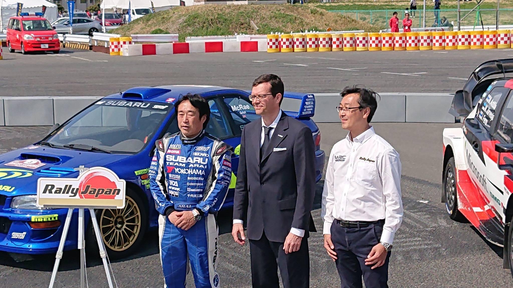 Rally Japan, WRC