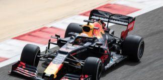 Max Verstappen, Bahrain F1 test