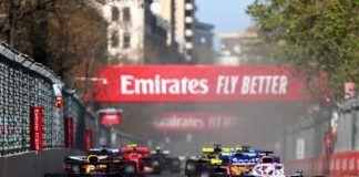 Max Verstappen against Sergio Perez