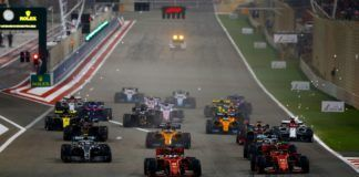 Lewis Hamilton bogs down in Bahrain GP